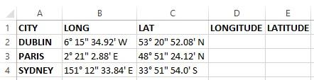 Excel Add Columns