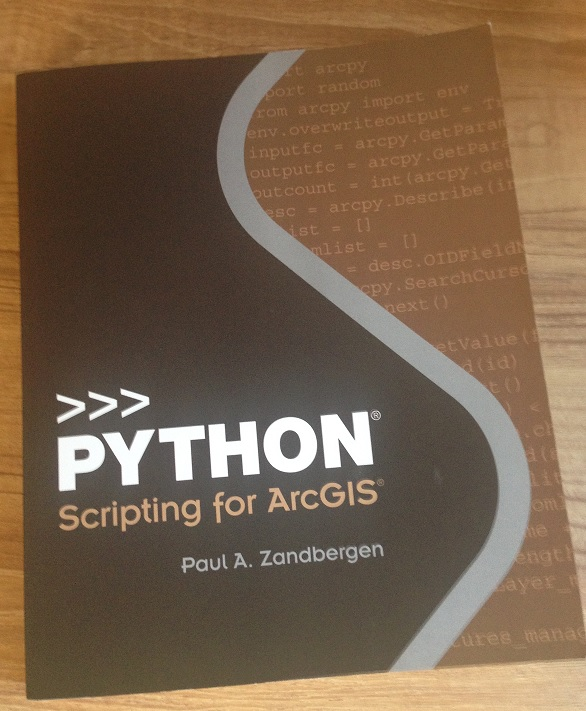 Book Review: Python Scripting for ArcGIS by Paul A  Zandbergen