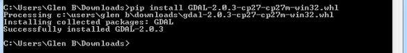 gdal_whl installation