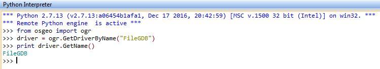 Setting up GDAL/OGR with FileGDB Driver for Python on